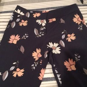LOFT Pants - TALL Loft floral pants. Super cute!!